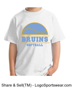 Bruins tshirt (youth) Design Zoom